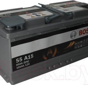 Автомобильный аккумулятор Bosch AGM S5 A15 605901095 / 0092S5A150
