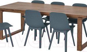 Обеденная группа Ikea Морбилонга/Одгер 092.969.07