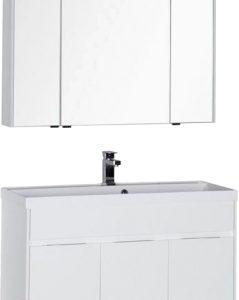 Комплект мебели для ванной Aquanet Латина 100 / 179841