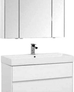 Комплект мебели для ванной Aquanet Бруклин 100 / 207800