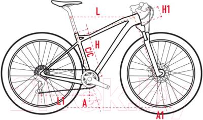 Велосипед Wilier 110FX'19 XX1 Fox 32 SC CrossMax Pro / E923EK4BLUEYELLOW