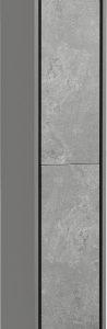 Шкаф-полупенал для ванной Акватон Уэльс 1A208103WAC30