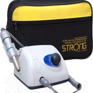 Аппарат для маникюра STRONG 210/107II без педали с сумкой 35000 об/мин