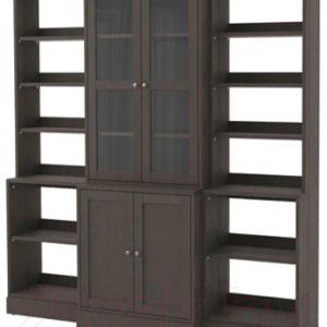 Шкаф с витриной Ikea Хавста 692.659.22