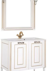 Комплект мебели для ванной Aquanet Паола 90 / 187844