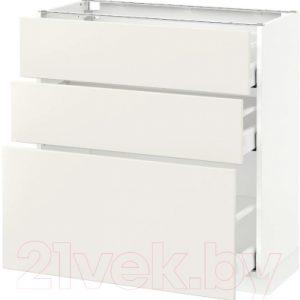 Шкаф-стол кухонный Ikea Метод/Максимера 992.348.11