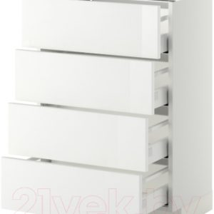 Шкаф-стол кухонный Ikea Метод/Максимера 992.355.37