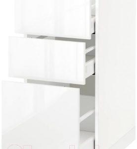 Шкаф-стол кухонный Ikea Метод/Максимера 992.357.40