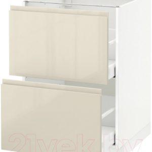 Шкаф-стол кухонный Ikea Метод/Максимера 992.367.49
