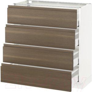 Шкаф-стол кухонный Ikea Метод/Максимера 992.383.24