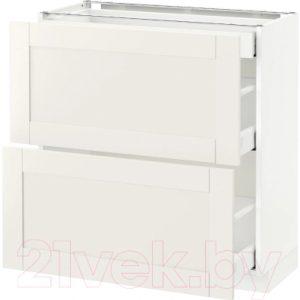 Шкаф-стол кухонный Ikea Метод/Максимера 992.387.53