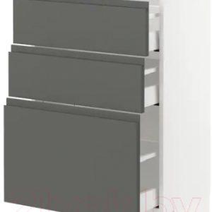 Шкаф-стол кухонный Ikea Метод/Максимера 993.103.48