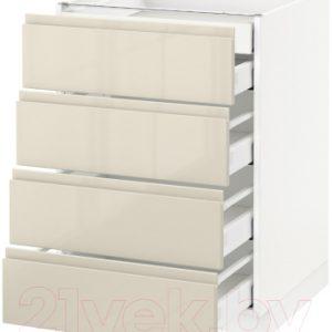 Шкаф-стол кухонный Ikea Метод/Максимера 993.118.85