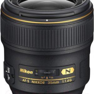 Широкоугольный объектив Nikon AF-S Nikkor 35mm f/1.4G