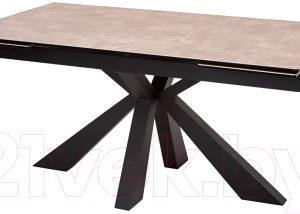 Обеденный стол Дамавер Alezio 160 / DECDF189TTL52BLCK