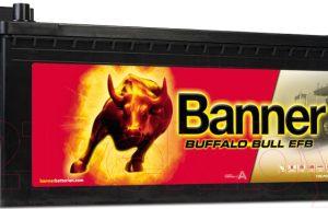 Автомобильный аккумулятор Banner Buffalo Bull EFB / 74017