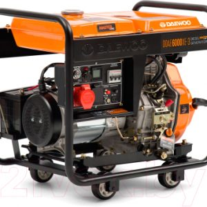 Дизельный генератор Daewoo Power DDAE 6000XE-3