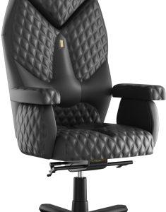 Кресло офисное Kulik System Diamond Desing кожа