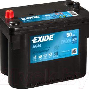 Автомобильный аккумулятор Exide EK508