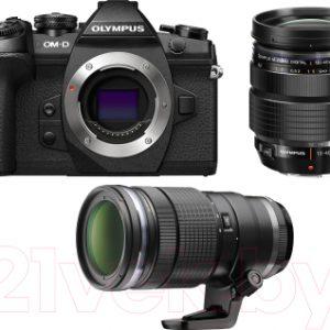 Беззеркальный фотоаппарат Olympus E-M1 Mark II Kit 12-40mm Pro + 40-150mm Pro