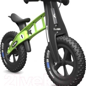 Беговел FirstBIKE Fat с тормозом