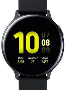 Умные часы Samsung Galaxy Watch Active2 44mm Aluminium / SM-R820NZKRSER