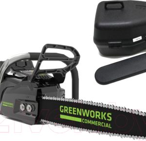 Электропила цепная Greenworks GC82CS