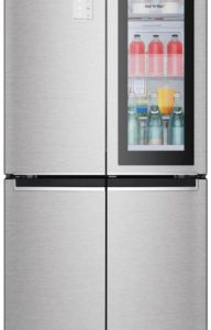 Холодильник с морозильником LG GC-Q22FTAKL