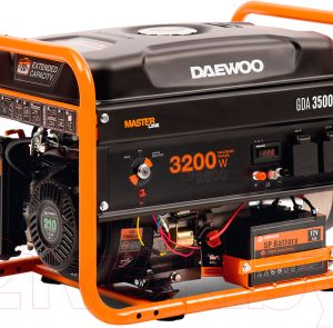 Бензиновый генератор Daewoo Power GDA 3500DFE