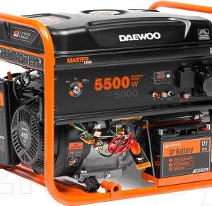 Бензиновый генератор Daewoo Power GDA 6500E