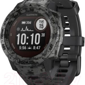 Умные часы Garmin Instinct Solar / 010-02293-05