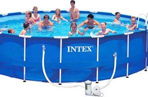 Каркасный бассейн Intex Metal Frame / 28252/56952