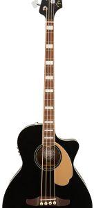 Электроакустический бас Fender Kingman Bass V2 W/Bag WN Jetty Black