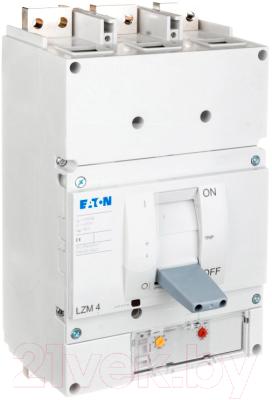 Выключатель автоматический Eaton LZMN4-AE1250-I 1250А 15000А 3P 50кА / 111980