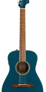 Акустическая гитара Fender Malibu Classic W/Bag PF Cosmic Turquoise