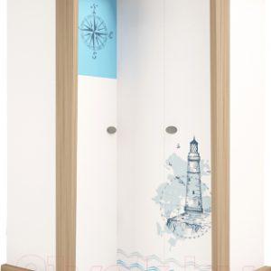 Шкаф ABC-King Mix Ocean левый / MIX-14-01-К-OB