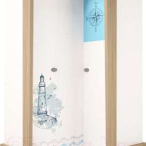 Шкаф ABC-King Mix Ocean правый / MIX-14-02-K-OB