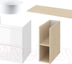 Комплект мебели для ванной Cersanit Moduo 120 + Inteo 47