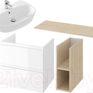 Комплект мебели для ванной Cersanit Moduo 140 + Street Fusion 70