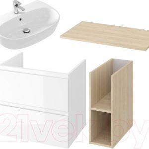 Комплект мебели для ванной Cersanit Moduo 80 + Street Fusion 70