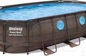 Каркасный бассейн Bestway Power Steel Swim Vista / 56716