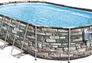 Каркасный бассейн Bestway Power Steel Swim Vista 56719