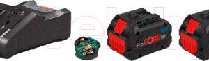 Набор аккумуляторов для электроинструмента Bosch ProCORE18V с зарядным GAL 18V-160 C