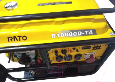 Бензиновый генератор Rato R10000D-TA
