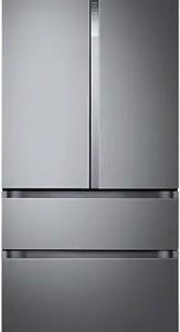 Холодильник с морозильником Samsung RF50N5861B1/WT