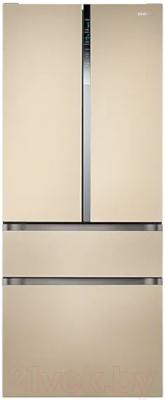 Холодильник с морозильником Samsung RF50N5861FG/WT