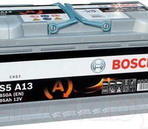 Автомобильный аккумулятор Bosch AGM S5 A13 595901085 / 0092S5A130