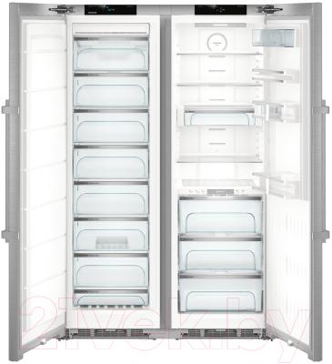 Холодильник с морозильником Liebherr SBSes 8773