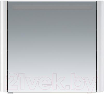 Шкаф с зеркалом для ванной AM.PM Sensation M30MCR0801WG