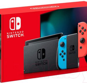 Игровая приставка Nintendo Switch 2019 / HAD-001-01